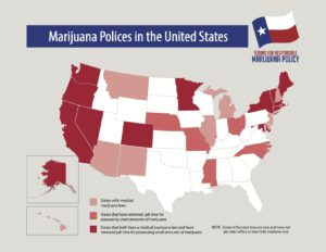 Texas Marijuana Policy in the States