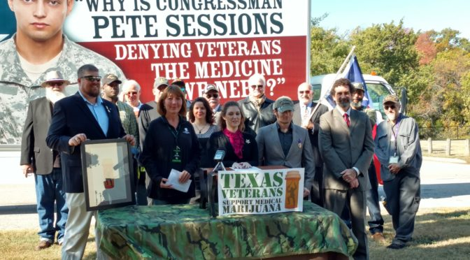 Texas Veterans Call for Medical Access to Cannabis and an End to Federal Interference