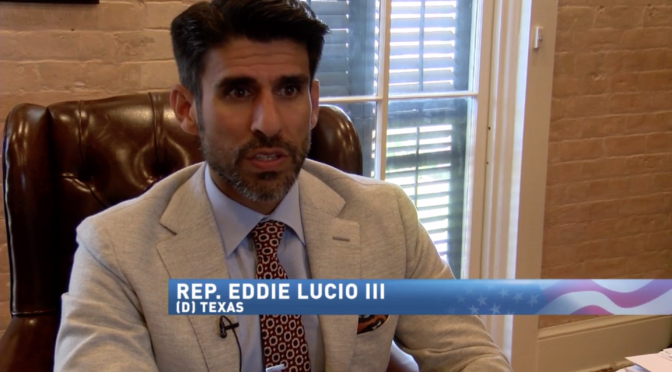 Texas Rep. Eddie Lucio III Continues Push for Medical Cannabis