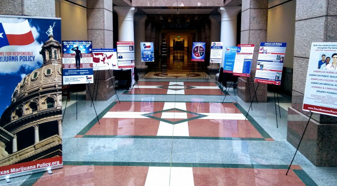 Medical Marijuana Exhibit Featured at Texas Capitol