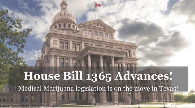 Texas Health Committee Advances Medical Marijuana Bill!