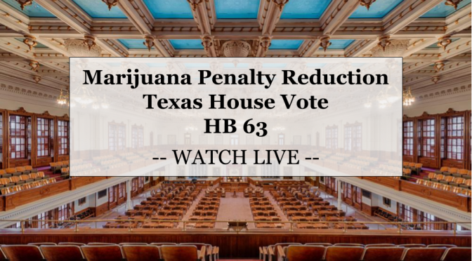 Today: A House vote on HB 63! (Secure the vote: Contact your representative!)