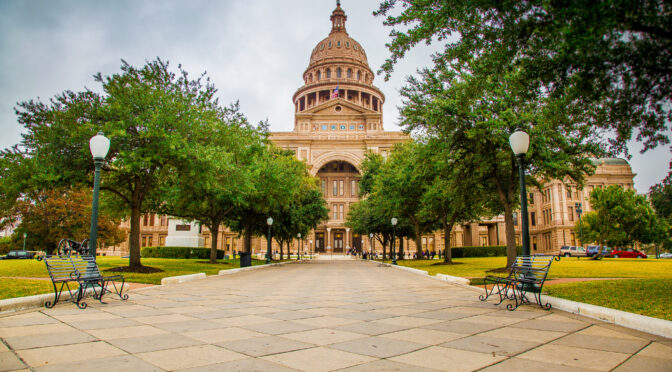 Our Texas Capitol is Now Open! (Some restrictions apply.)