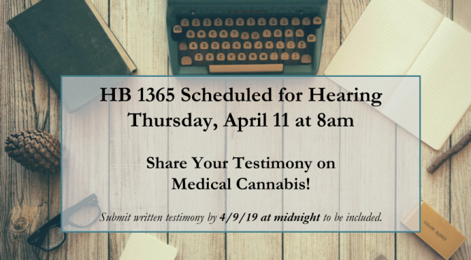 Texas: HB 1365 (Medical Cannabis) Schedule for a Hearing!