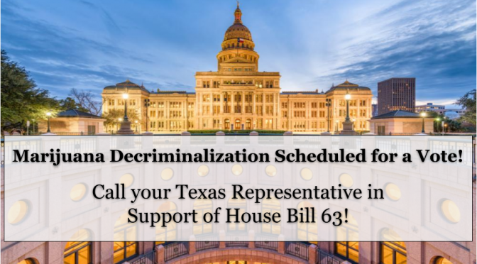 ACTION ALERT: Call your representative in support of HB 63!