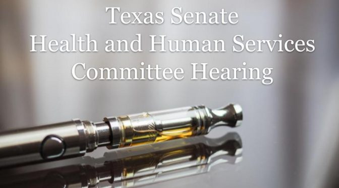 Texas Senate Committee Considers Need for New Vaping Policies | Interim Hearing