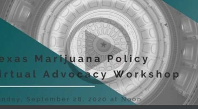 VIDEO: Virtual Advocacy Workshop | TxMJPolicy